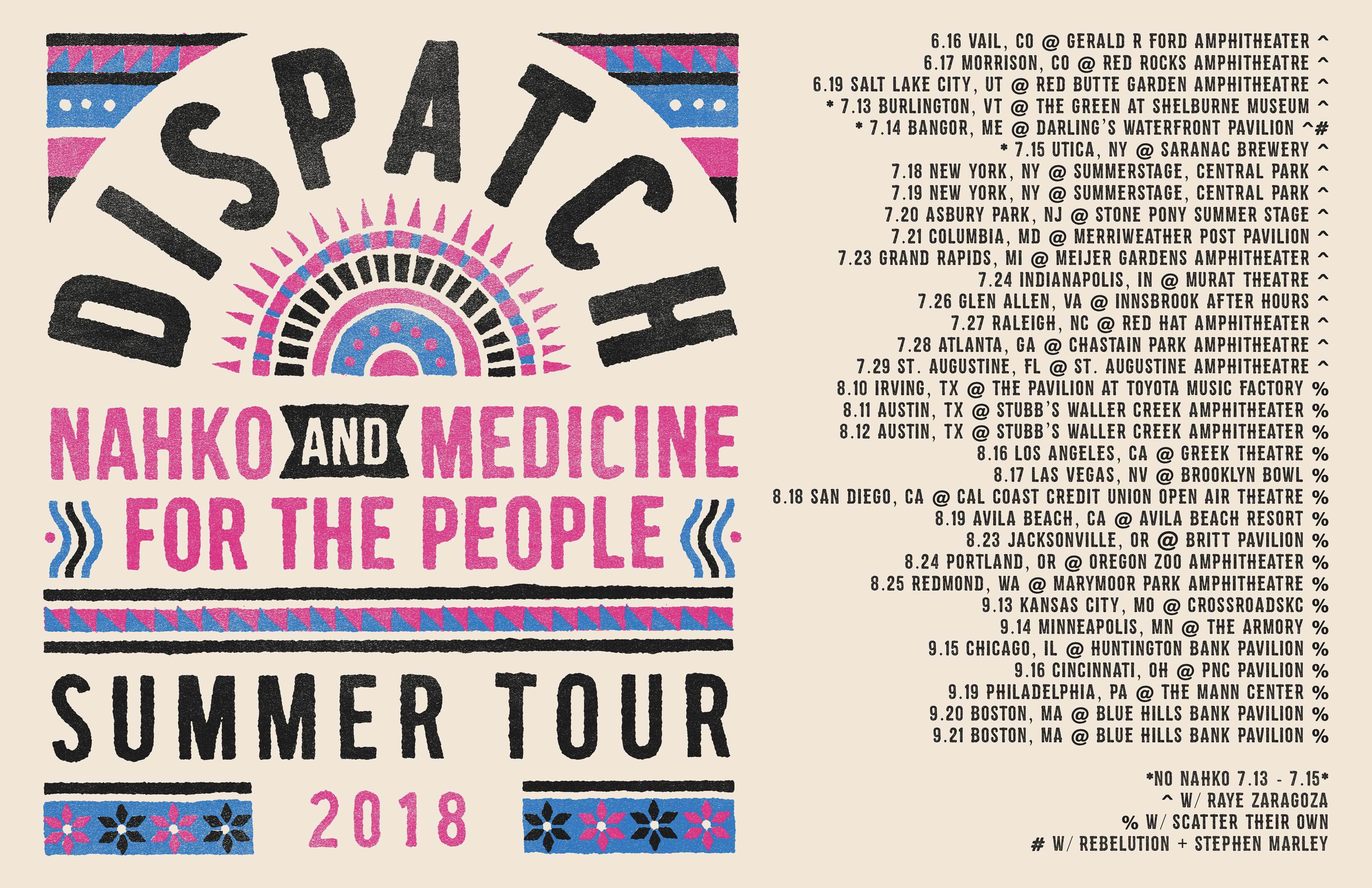 Dispatch news summer tour 2018 kristyandbryce Images